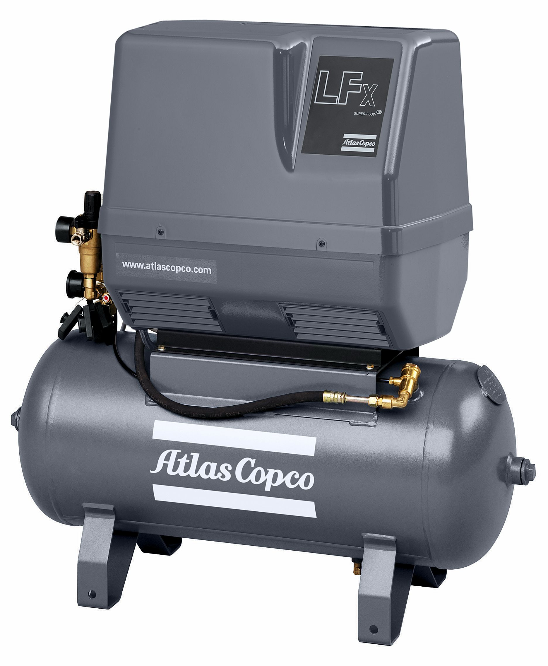 LF 10-10 Receiver Mounted Silenced Atlas Copco